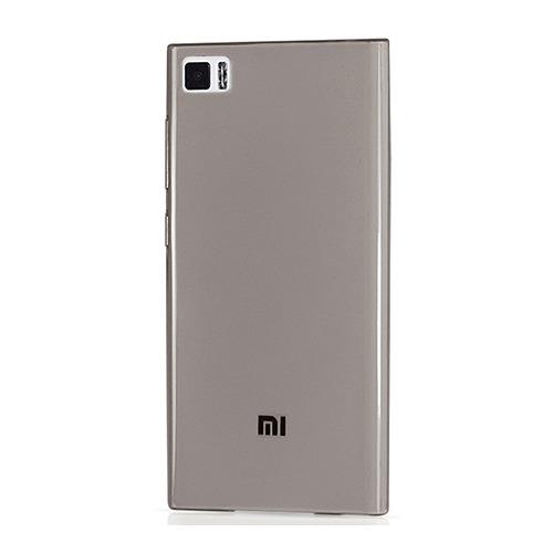 Накладка силиконовая Goodcom Ultra slim Xiaomi MI3 Black