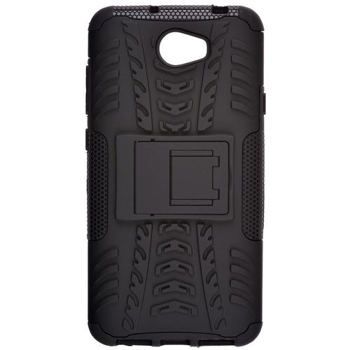 Накладка пластиковая skinBox Defender Huawei Y5II/5A Black