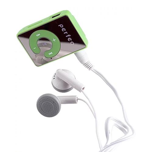 Плеер Mp3 Perfeo Music Clip Color VI-M003 Green