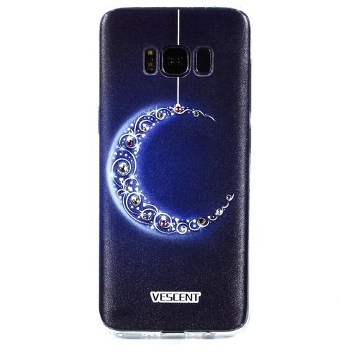 Накладка пластиковая Goodcase Samsung Galaxy S8 Полумесяц