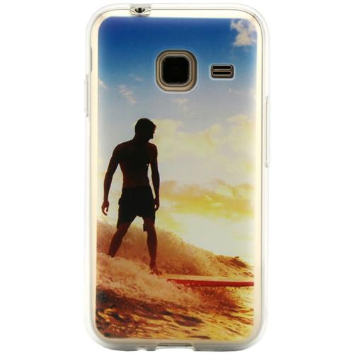 Накладка силиконовая Code Samsung J1 (2016) Surfing