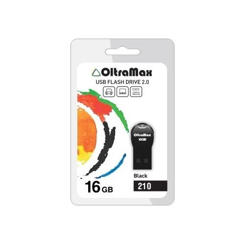 USB флешка OltraMax 210 (16Gb) Black