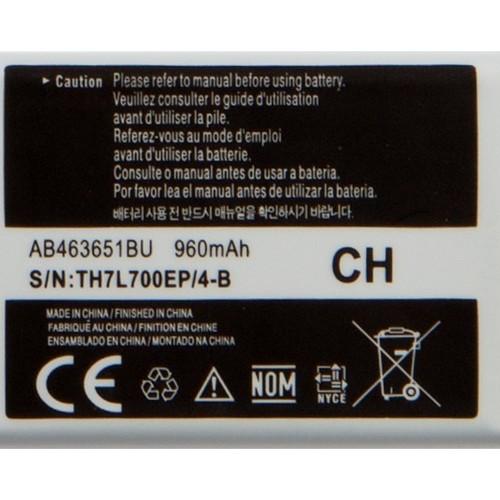 Аккумулятор для Samsung s5620/s3650/c6112/l700 (AB463651BU), Goodcom, 960 mAh