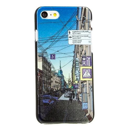 """Накладка пластиковая HAPPYTIME iPhone 7 / iPhone 8 """"Улица Гороховая"""""""