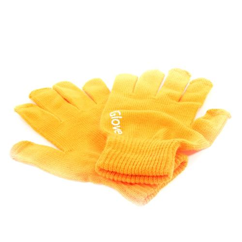 Перчатки iGlove для сенсорных устройств Orange