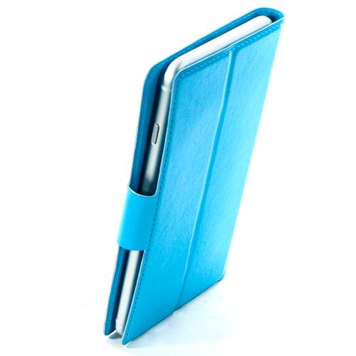 """Чехол-книжка Code универсальный M (4.3""""-5.5"""") Blue фото 3"""