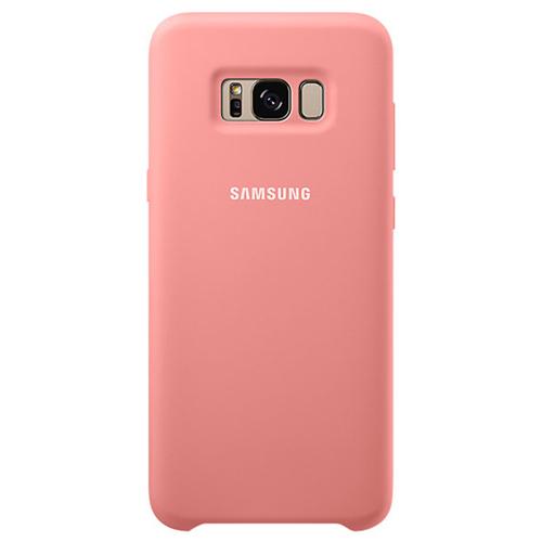 Накладка силиконовая на Samsung Cover Galaxy S8 + (EF-PG955TPEGRU) Pink