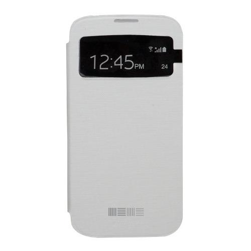 Чехол-книжка для Samsung G800 Galaxy S5 mini, InterStep, White