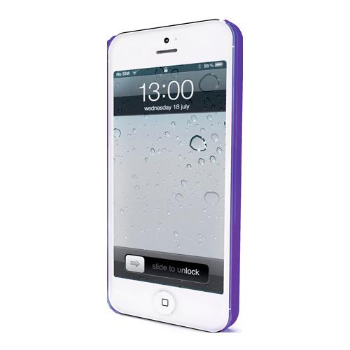 Накладка пластиковая Muvit iPhone 5/5S iMatt Violet