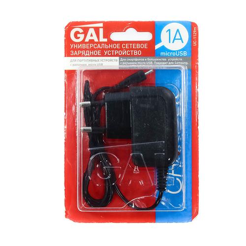 СЗУ GAL UC-1129M microUSB 1A Black