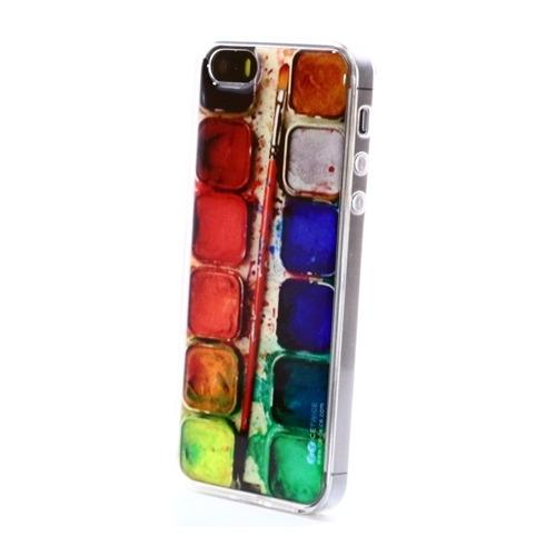 Накладка силиконовая IceTwice iPhone 5/5S/SE Краски №710