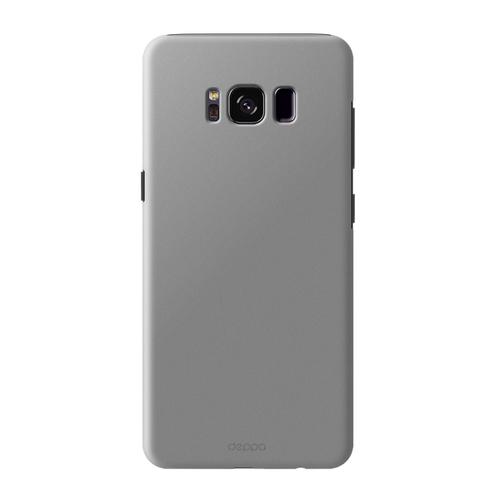 Накладка пластиковая Deppa Air Case Samsung Galaxy S8 Silver