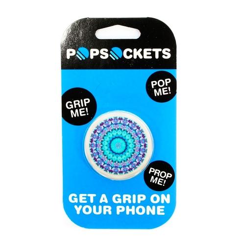 Держатель Goodcom для смартфонов PopSocket Mandala Blue