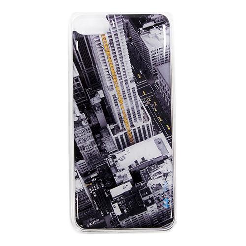 Накладка силиконовая IceTwice iPhone 7 Небоскрёбы №506