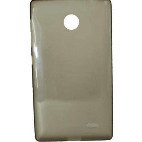 Накладка силиконовая Ultra slim Nokia X Dual sim Glossy Black