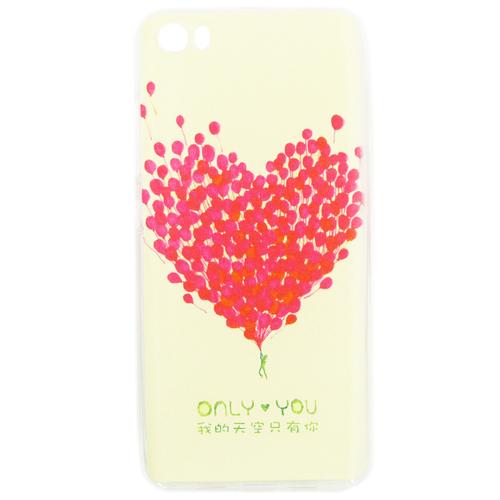 Накладка силиконовая Goodcase Xiaomi Mi5 Сердце