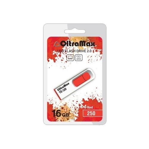 USB флешка OltraMax 250 (16Gb) Red