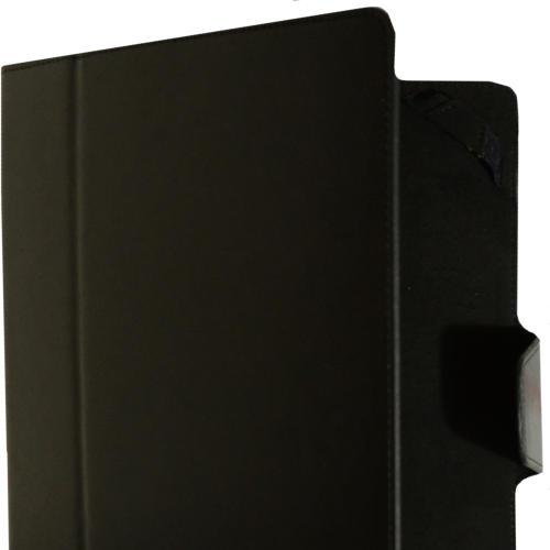 Чехол-книжка InterStep Vels р2N 9.7' для эл. устройств кожаный чёрный