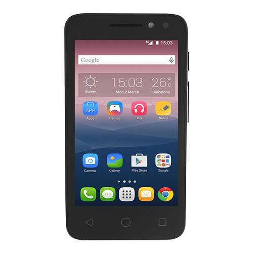 Телефон Alcatel OT-4034D PIXI 4 Volcano Black
