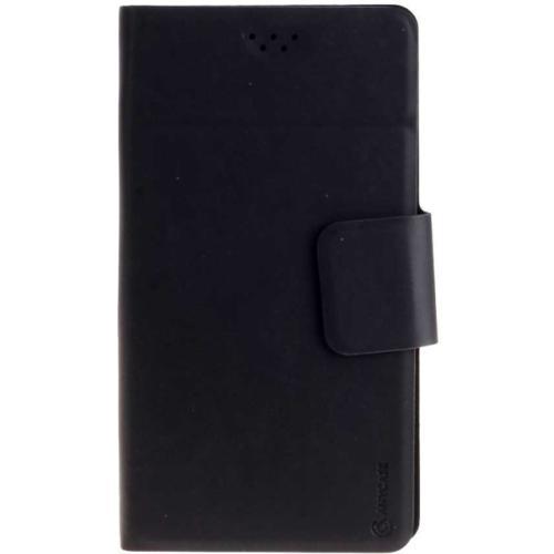 """Чехол-книжка Anycase Wallet Fold M универсальный (4.3""""-5.5"""") Black"""