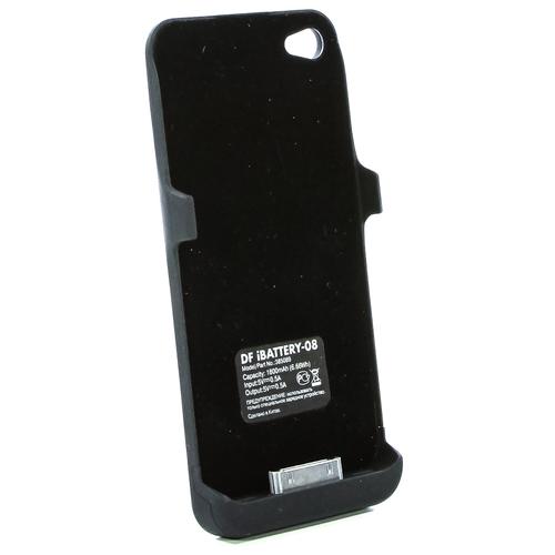 Накладка-аккумулятор DF iBattery-06 Slim iPhone 5/5S 2200mAh Space Grey