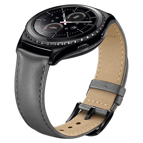 Ремешок Samsung для Samsung Gear S2 Band (ET-SLR73MSEGRU) Gray