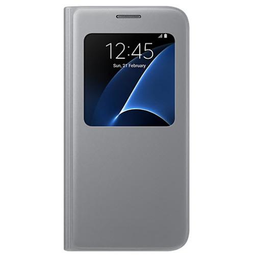 Чехол-книжка Samsung S View Galaxy S7 (EF-CG930PSEGRU) Silver