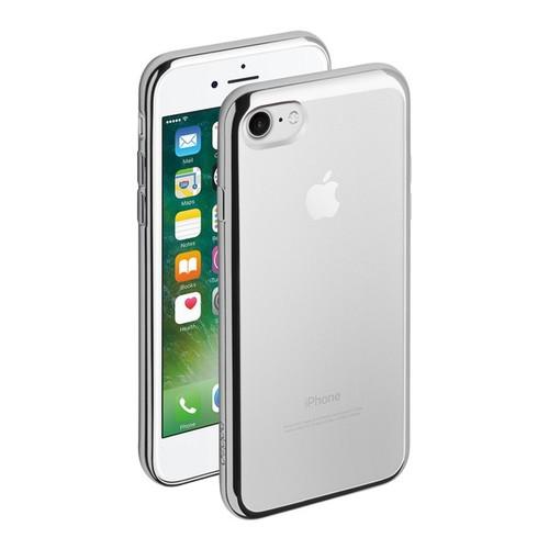 Накладка силиконовая Deppa Gel Plus Case iPhone 7 Silver