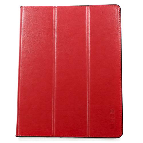 """Чехол-книжка InterStep Vels р8М 8-8.5"""" для эл. устройств кожаный красный"""