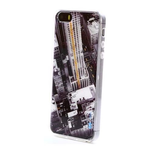 Накладка силиконовая IceTwice iPhone 5/5S/SE Небоскрёбы №506