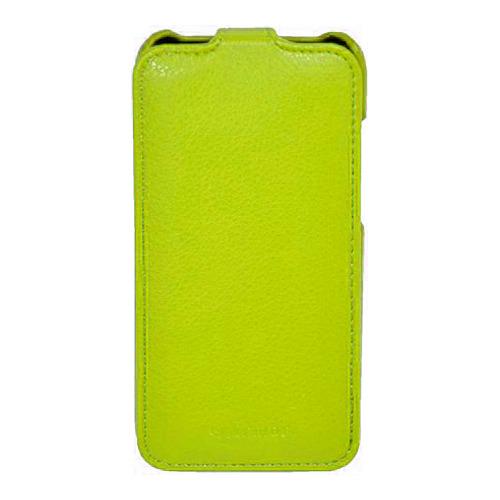 Чехол-флип для Samsung S5830, Armor, желтый