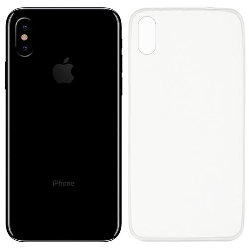Накладка силиконовая Anycase Iphone X Clear