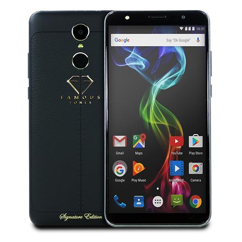 Телефон Famous Fones 5+ 16Gb Black