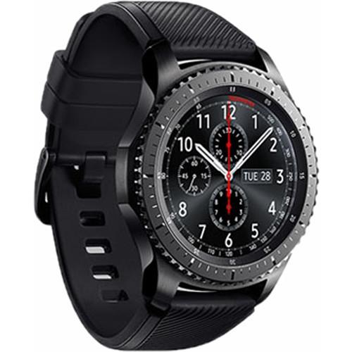 Умные часы Samsung SM-R760 Gear S3 Frontier, Dark Grey