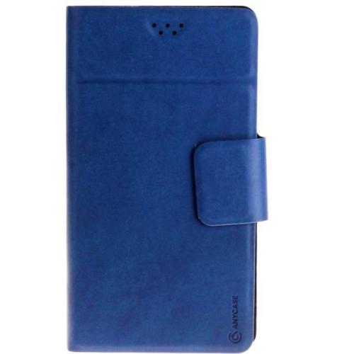 """Чехол-книжка Anycase Wallet Fold L универсальный (5.5""""-6.5"""") Blue"""