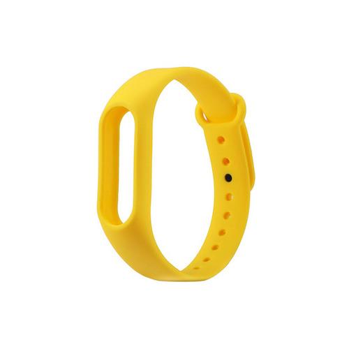 Ремешок для фитнес-браслета Xiaomi Mi Band 2 Lemon Yellow