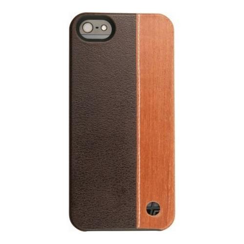 Накладка пластиковая Trexta iPhone 5/5S/SE Wood Duo