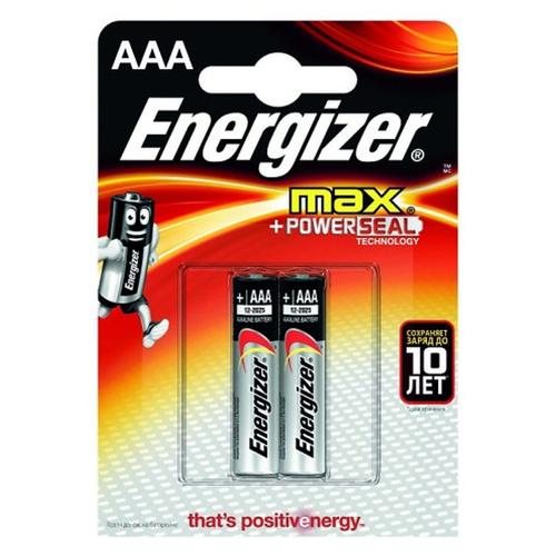 Батарея Energizer LR03 AAA (блистер 2шт.) фото