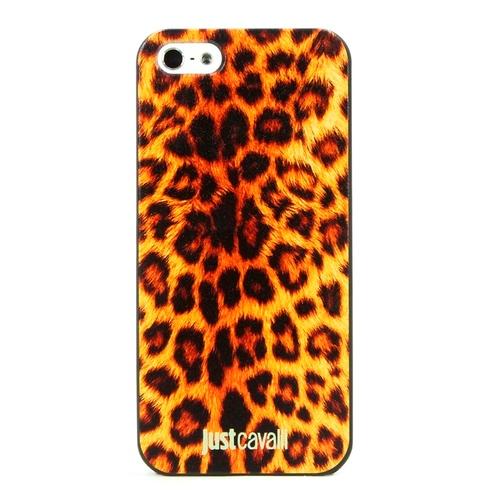 Накладка пластиковая QRCase iPhone 5/5S/SE Леопард N150W