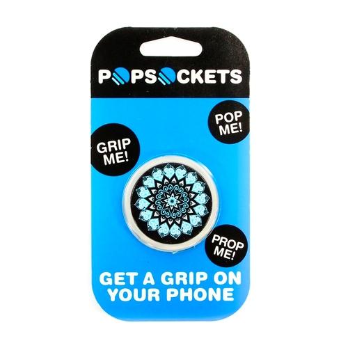 Держатель Goodcom для смартфонов PopSocket Mandala Black