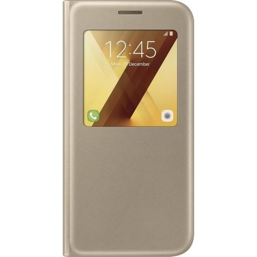 Чехол - книжка Samsung S View Galaxy A5 (2017) (EF-CA520PFEGRU) Gold