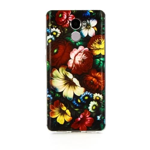 Накладка силиконовая Goodcase Xiaomi Redmi 4 Хохлома