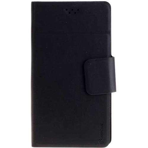 """Чехол-книжка Anycase Wallet Fold L универсальный (5.5""""-6.5"""") Black"""