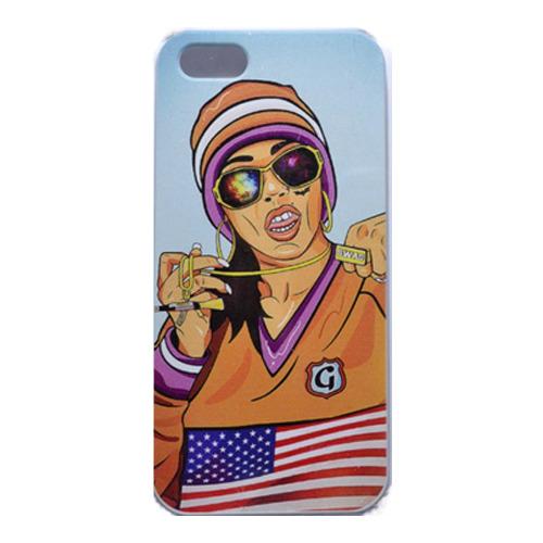 Накладка пластиковая QRCase iPhone 5/5S Swag  N307W