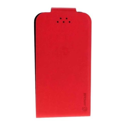 """Чехол-флип Anycase Flip Fold M универсальный (4.3""""-5.5"""") Red"""