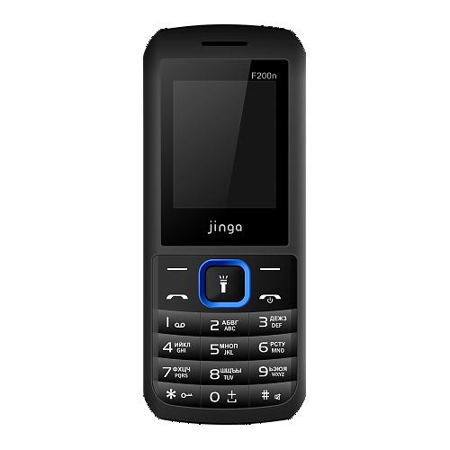 Телефон Jinga Simple F200n Black Blue