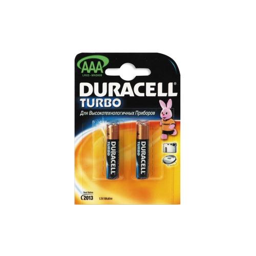 Батарея Duracell LR03 AAA TURBO (1шт.)