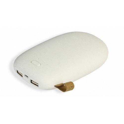 Внешний аккумулятор SmartBuy Golem 2USB 5200 mAh (SBPB-9920) Light Grey фото 2