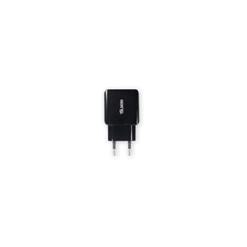 Сетевое зарядное устройство Olmio 2USB 2.1A Black