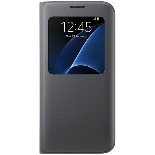 Чехол-книжка Samsung S View Cover Galaxy S7 Edge (EF-CG935PBEGRU) Gray